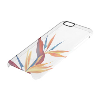 Bird of Paradise Clear iPhone 6/6S Case