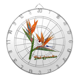Bird Of Paradise Dartboard