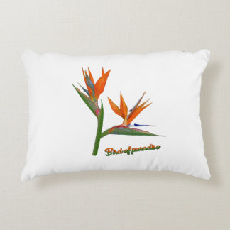 Bird Of Paradise Decorative Cushion