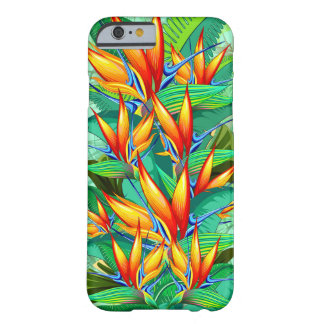 Bird of Paradise Flower Exotic Nature Barely There iPhone 6 Case