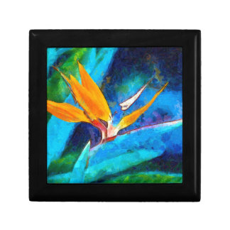 bird of paradise flower gift box