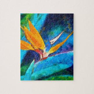 bird of paradise flower jigsaw puzzle