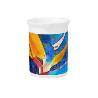bird of paradise flower pitcher