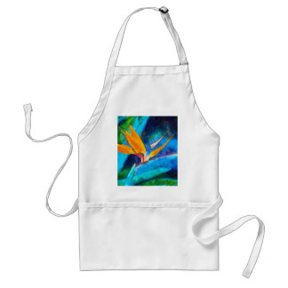 bird of paradise flower standard apron