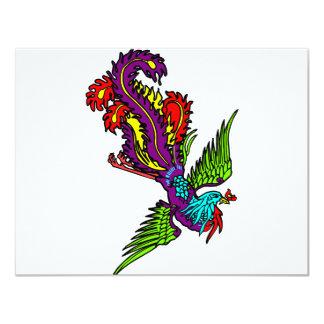 Bird Of Paradise Custom Invitations