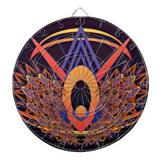 Bird of Paradise Metal Cage Dartboard