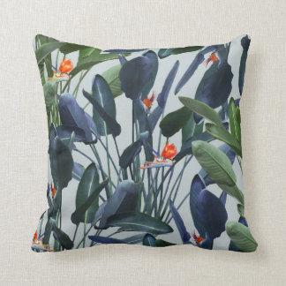 Bird of Paradise Pattern V2 Pillow 16x16