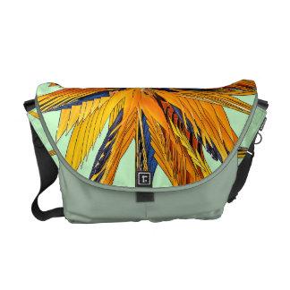 Bird of Paradise Star-Burst Tote Bag Courier Bag