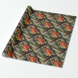 Bird of Paradise (Strelitzia) Wrapping Paper