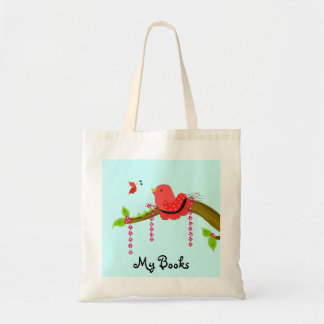 Bird on a Branch Budget Tote Bag