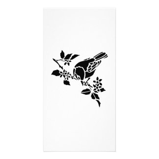 Bird on a Branch Personalized Photo Card