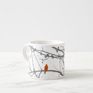 Bird on a Maple Espresso Mug