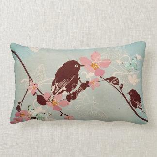 Bird on a tree American MoJo Pillow