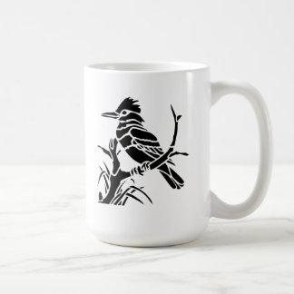 Bird on a Tree Branch Mugs