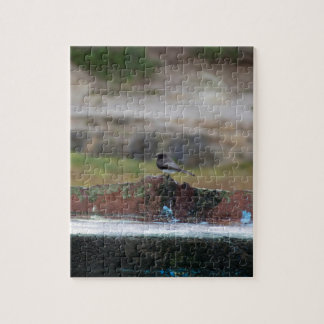 bird on a wall jigsaw puzzle