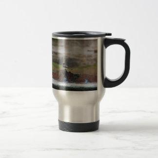 bird on a wall travel mug