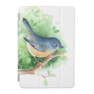 Bird on branch iPad mini cover