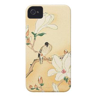 Bird on Magnolia iPhone 4 Case Beautiful