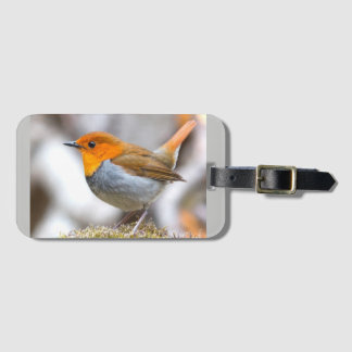 Bird Out Luggage Tag
