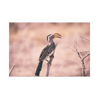 Bird Outdoor Canvas Print