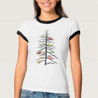 Bird Paper Tree T-Shirt