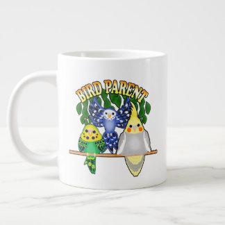 Bird Parent Large Coffee Mug