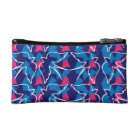 Bird Pattern cosmetic bag