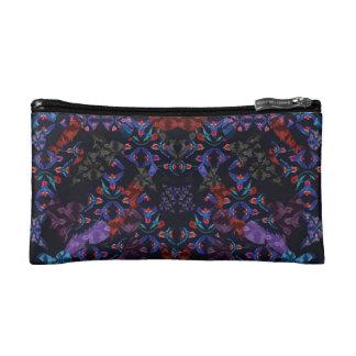 Bird Pattern Cosmetic Bag