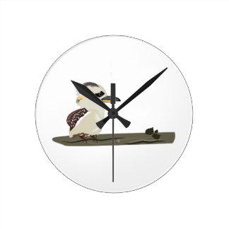 Bird Perch Wallclock