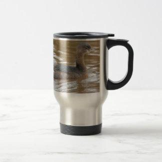 Bird Pied Billed Grebe Nature Travel Mug