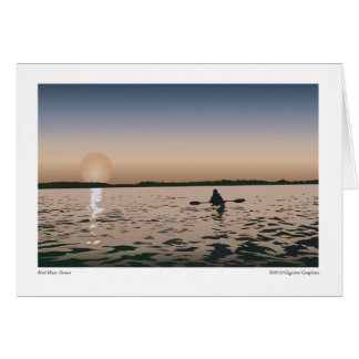 Bird River Sunset Card