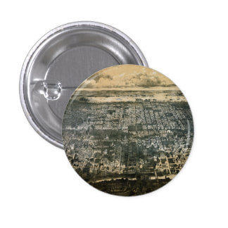 Bird s eye view of Philadelphia Pennsylvania 1868 Buttons