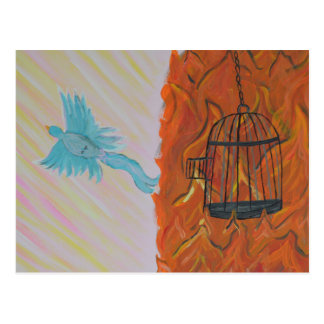 Bird Set Free Postcard