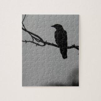 Bird silhouette jigsaw puzzle