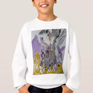 Bird Snakes and Woman Design Sweatshirt