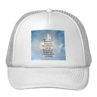 "Bird ""So Loved"" Poem Cap"