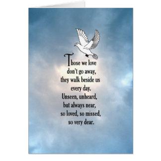 """Bird """"So Loved"""" Poem Card"""