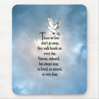"""Bird """"So Loved"""" Poem Mouse Pads"""
