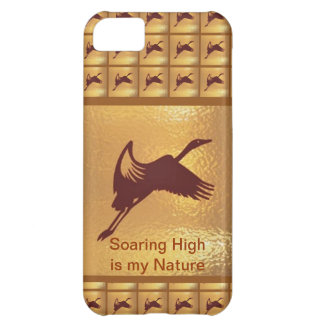 BIRD: Soaring High is my nature iPhone 5C Case