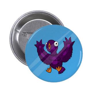 Bird Splatter Button