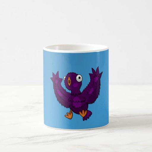 Bird Splatter Cup Basic White Mug