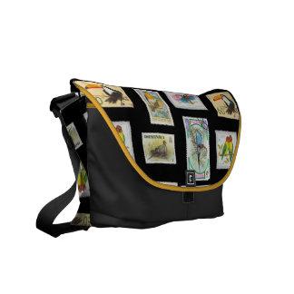 Bird Stamps Commuter Bag