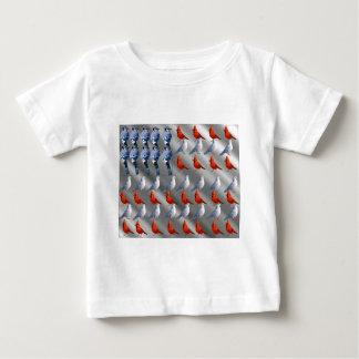 Bird Standing American Flag T Shirts