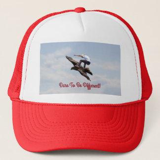 Bird Surfing Trucker Hat