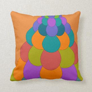 Bird Tail1 on Orange Cushion