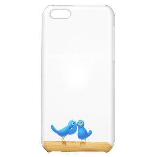 Bird talking and Twitter iPhone 5C Cases