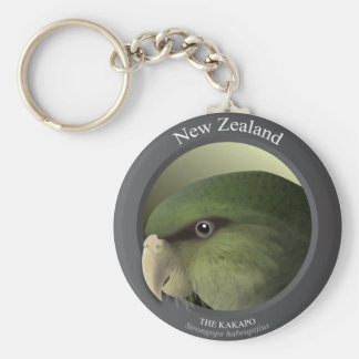 Bird - THE KAKAPO Key Ring