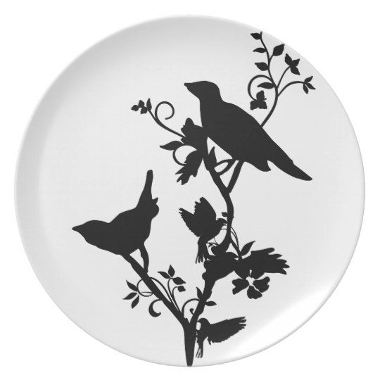 Bird Themed Home Decor Plate