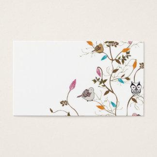 Bird tree Business Card