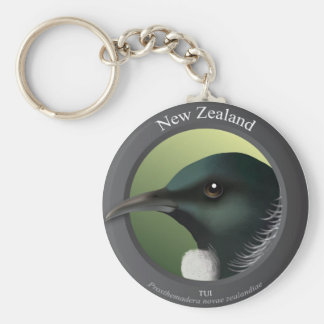 Bird - Tui Key Ring